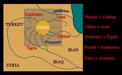 The four rivers of Eden