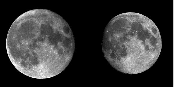 Moon at Perigee and Apogee